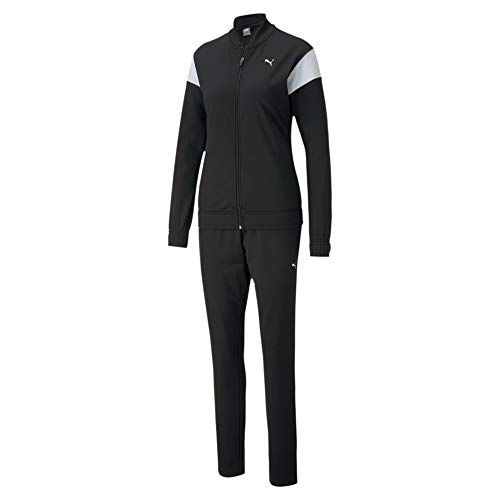 PUMA Classic Tricot Suit Op Chándal, Mujer, Black, S