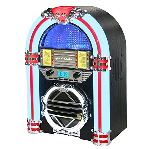 Silva Schneider Jukebox 66 UKW CD Radio CD FM Negro, Blanco, Rojo